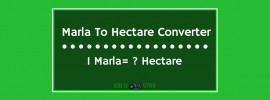 Marla To Hectare Converter